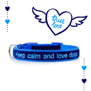 Collare ZUKY Keep calm and love dogs